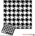 Sony PS3 Slim Skin Houndstooth Black and White
