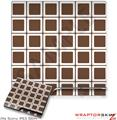 Sony PS3 Slim Skin Squared Chocolate Brown