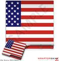 Sony PS3 Slim Skin USA American Flag 01