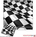 Sony PS3 Slim Skin Checkered Racing Flag