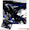 Sony PS3 Slim Skin - Abstract 02 Blue