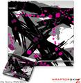 Sony PS3 Slim Skin - Abstract 02 Pink