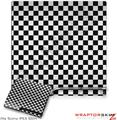Sony PS3 Slim Skin - Checkered Canvas Black and White