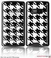 LG enV2 Skin Houndstooth Black and White