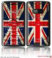 LG enV2 Skin Painted Faded and Cracked Union Jack British Flag