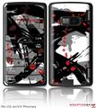 LG enV2 Skin - Abstract 02 Red