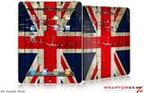 iPad Skin Painted Faded and Cracked Union Jack British Flag