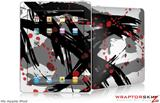 iPad Skin - Abstract 02 Red