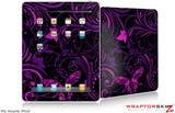 iPad Skin - Twisted Garden Purple and Hot Pink