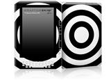 Bullseye Black and White - Decal Style Skin for Amazon Kindle DX