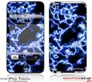iPod Touch 4G Skin - Electrify Blue
