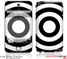 iPod Touch 4G Skin - Bullseye Black and White