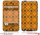 iPod Touch 4G Skin - Halloween Skull and Bones