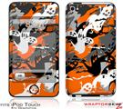 iPod Touch 4G Skin - Halloween Ghosts