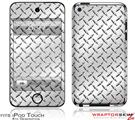 iPod Touch 4G Skin - Diamond Plate Metal