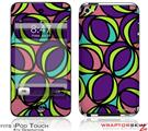 iPod Touch 4G Skin - Crazy Dots 01