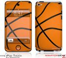 iPod Touch 4G Skin - Basketball