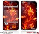 iPod Touch 4G Skin - Fire Flower