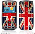 LG Vortex Skin Painted Faded and Cracked Union Jack British Flag