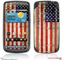 LG Vortex Skin Painted Faded and Cracked USA American Flag