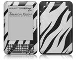 Zebra Skin - Decal Style Skin fits Amazon Kindle 3 Keyboard (with 6 inch display)