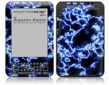 Electrify Blue - Decal Style Skin fits Amazon Kindle 3 Keyboard (with 6 inch display)