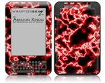 Electrify Red - Decal Style Skin fits Amazon Kindle 3 Keyboard (with 6 inch display)