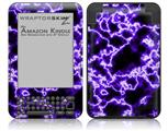 Electrify Purple - Decal Style Skin fits Amazon Kindle 3 Keyboard (with 6 inch display)