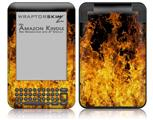 Open Fire - Decal Style Skin fits Amazon Kindle 3 Keyboard (with 6 inch display)