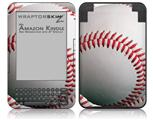 Baseball - Decal Style Skin fits Amazon Kindle 3 Keyboard (with 6 inch display)