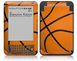 Basketball - Decal Style Skin fits Amazon Kindle 3 Keyboard (with 6 inch display)