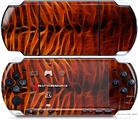 Sony PSP 3000 Decal Style Skin - Fractal Fur Tiger