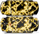 Sony PSP 3000 Decal Style Skin - Electrify Yellow