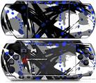 Sony PSP 3000 Decal Style Skin - Abstract 02 Blue