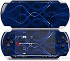 Sony PSP 3000 Decal Style Skin - Abstract 01 Blue