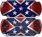 Sony PSP 3000 Decal Style Skin - Confederate Flag