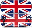 Sony PSP 3000 Decal Style Skin - Union Jack 02