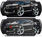 Sony PSP 3000 Decal Style Skin - 2010 Camaro RS Black