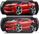 Sony PSP 3000 Decal Style Skin - 2010 Camaro RS Red