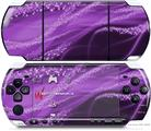 Sony PSP 3000 Decal Style Skin - Mystic Vortex Purple
