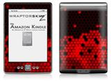 HEX Red - Decal Style Skin (fits 4th Gen Kindle with 6inch display and no keyboard)