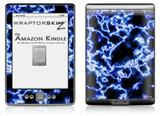 Electrify Blue - Decal Style Skin (fits 4th Gen Kindle with 6inch display and no keyboard)