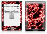 Electrify Red - Decal Style Skin (fits 4th Gen Kindle with 6inch display and no keyboard)