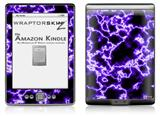 Electrify Purple - Decal Style Skin (fits 4th Gen Kindle with 6inch display and no keyboard)