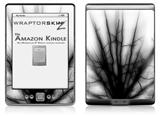 Lightning Black - Decal Style Skin (fits 4th Gen Kindle with 6inch display and no keyboard)
