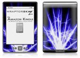 Lightning Blue - Decal Style Skin (fits 4th Gen Kindle with 6inch display and no keyboard)