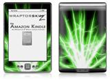 Lightning Green - Decal Style Skin (fits 4th Gen Kindle with 6inch display and no keyboard)