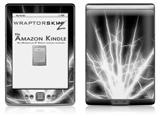 Lightning White - Decal Style Skin (fits 4th Gen Kindle with 6inch display and no keyboard)