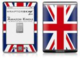 Union Jack 02 - Decal Style Skin (fits 4th Gen Kindle with 6inch display and no keyboard)