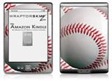 Baseball - Decal Style Skin (fits 4th Gen Kindle with 6inch display and no keyboard)